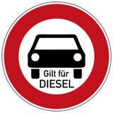 Het vrije rit en diesel belemmerd drijven vector illustratie