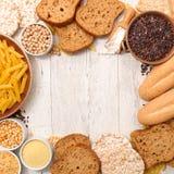 Het vrije voedsel van het gluten royalty-vrije stock afbeelding