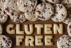 Het vrije voedsel van het gluten stock afbeelding