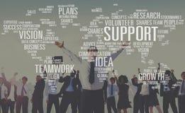 Het vrijwilligers Toekomstige Concept van de Groeiplannen van Deskundigheids Toekomstige Ideeën stock afbeeldingen