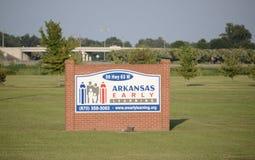 Het Vroege Lerende Centrum van Arkansas, Jonesboro, Arkansas royalty-vrije stock afbeelding