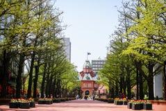 Het vroegere Bureau van de Overheid van Hokkaido Stock Afbeeldingen