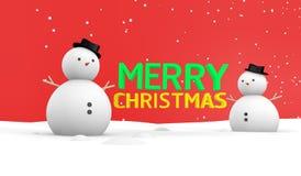 Het vrolijke behang van Kerstmis Stock Afbeelding