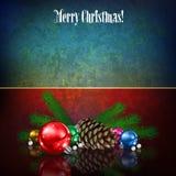 Het vrolijke Bericht van Kerstmis stock illustratie