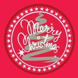 Het vrolijke element van het Kerstmisontwerp Stock Afbeeldingen