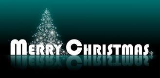 Het vrolijke Embleem van Kerstmis Stock Fotografie