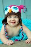 Het vrolijke Meisje van de Baby Stock Foto's