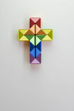 Het vrolijke stuk speelgoed van de kruisbeelddraai Royalty-vrije Stock Fotografie