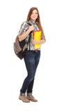 Het vrouwelijke de student van Nice glimlachen Stock Fotografie