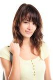 Het vrouwelijke de student van Nice glimlachen Royalty-vrije Stock Afbeelding