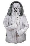 Het vrouwelijke jasje van de winter. Stock Afbeeldingen