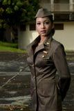 Het vrouwelijke Personeel van het Leger royalty-vrije stock fotografie