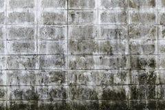 Het vuile cement blokkeert muur Royalty-vrije Stock Afbeelding