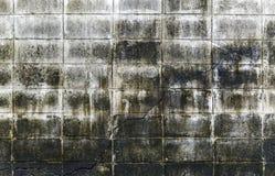 Het vuile cement blokkeert muur Royalty-vrije Stock Afbeeldingen