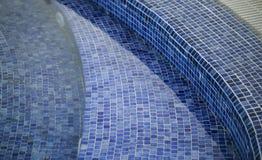 Het vuile detail van het vloer zwembad stock afbeeldingen