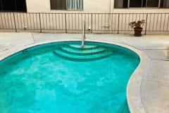Het vuile Water van de Pool Royalty-vrije Stock Afbeeldingen