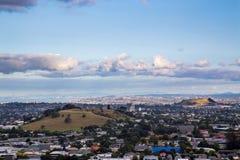 Het vulkanische gebied van Auckland Stock Foto's