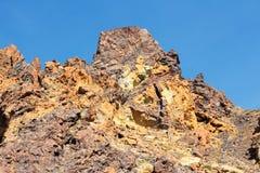 Het Vulkanische Landschap van Tenerife Stock Foto's