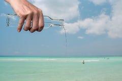 Het vullen van de oceaan Royalty-vrije Stock Fotografie