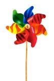 Het vuurrad van de regenboog Royalty-vrije Stock Foto