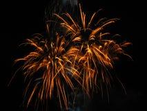 Het vuurwerk toont Stock Fotografie