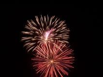 Het vuurwerk toont III Stock Foto