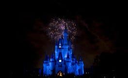 Het Vuurwerk van Disney `s Royalty-vrije Stock Afbeeldingen