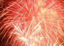 Het vuurwerk van Fallas Stock Foto