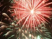 Het vuurwerk van Fallas Stock Afbeelding