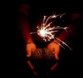 Het Vuurwerk van het nieuwjaar Royalty-vrije Stock Afbeelding