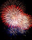Het vuurwerk van Vancouver Royalty-vrije Stock Foto's