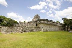 Het waarnemingscentrum in Chichen Itza Royalty-vrije Stock Foto