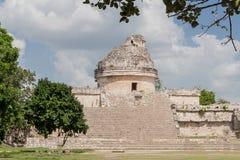 Het Waarnemingscentrum Mexico van Itza van Chichen Royalty-vrije Stock Foto