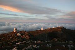 Het Waarnemingscentrum van La Palma Royalty-vrije Stock Foto