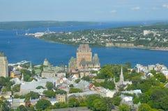 Het waarnemingscentrum van Quebec Stock Afbeelding