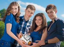 Het wachten op Euro 2012 Royalty-vrije Stock Foto