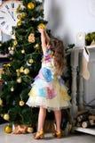Het wachten op het Nieuwjaar en Kerstmis Royalty-vrije Stock Foto's