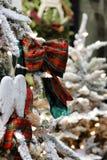 Het wachten op Kerstmis Stock Foto