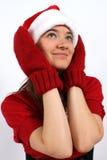 Het wachten op Kerstmis Royalty-vrije Stock Foto's