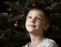 Het wachten op santa Royalty-vrije Stock Foto's