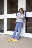 Het wachten op te openen school Royalty-vrije Stock Fotografie