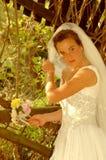 Het wachten van de bruid Stock Foto's