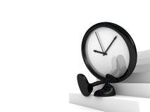 Het wachten van de klok Stock Fotografie