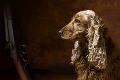 Het wachten van de kunst Royalty-vrije Stock Foto's