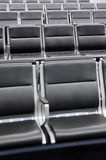 Het wachten van de luchthaven zitkamer Stock Afbeeldingen