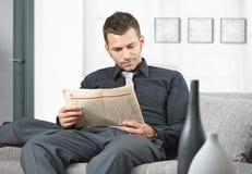 Het wachten van de zakenman Stock Foto's
