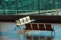 Het wachten zitkamer met stoelen Royalty-vrije Stock Afbeelding