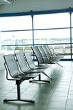 Het wachtende gebied van de luchthaven Royalty-vrije Stock Foto