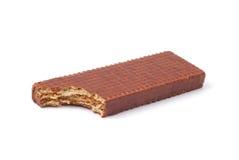Het wafeltje van de chocolade royalty-vrije stock afbeelding