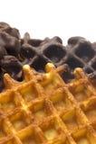Het wafeltje van de chocolade Royalty-vrije Stock Foto's